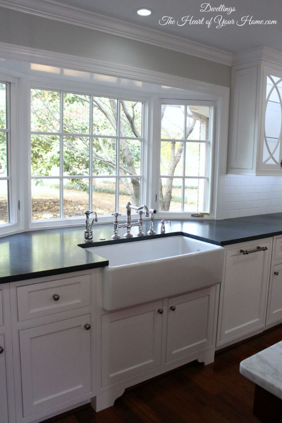 Kitchen Tour ~ Our NEW Farmhouse Style Kitchen | Kitchen sink ..
