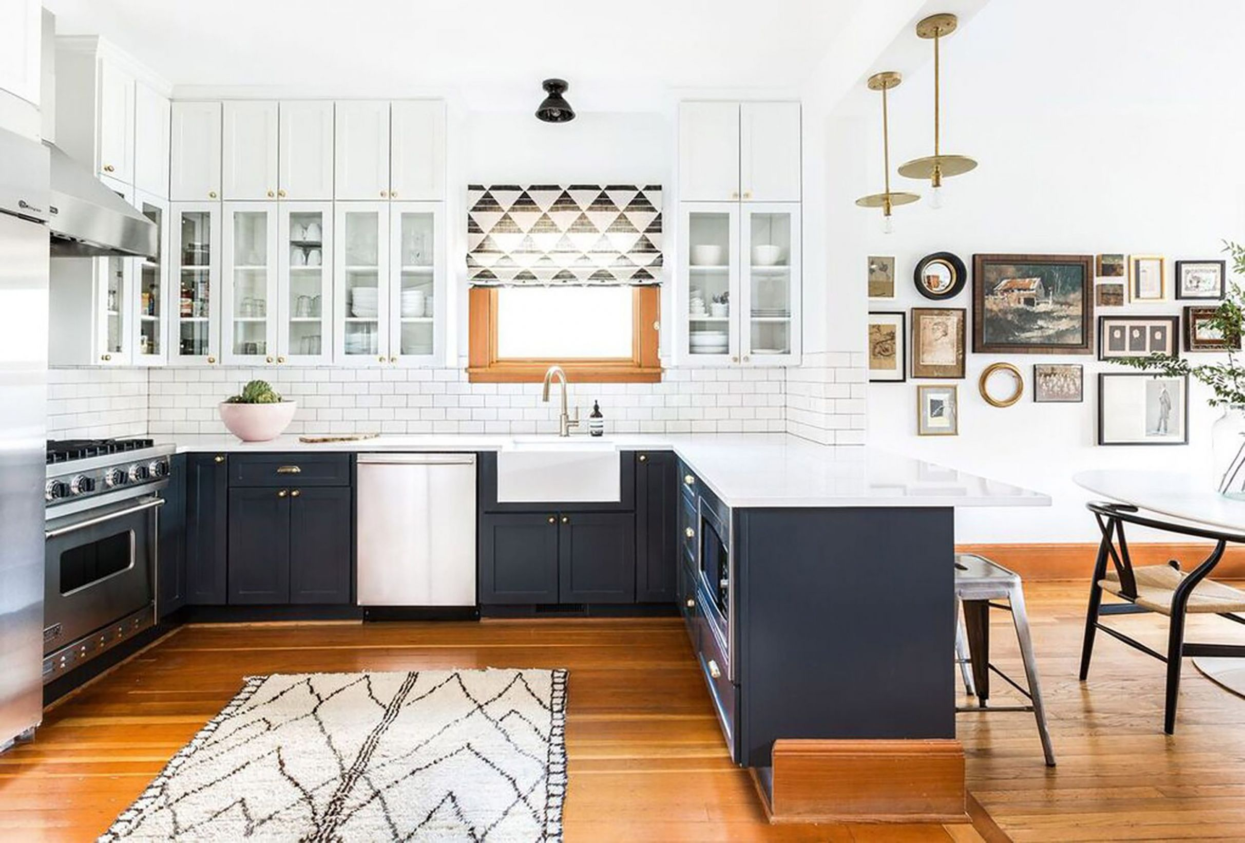 Kitchens With No Uppers: Insanely Gorgeous or Just Insane? - Emily ...