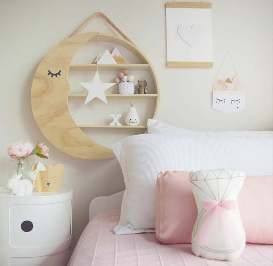 KMART MOON SHELF ADD ON KIT – Bear and Sparrow | Baby room storage ..