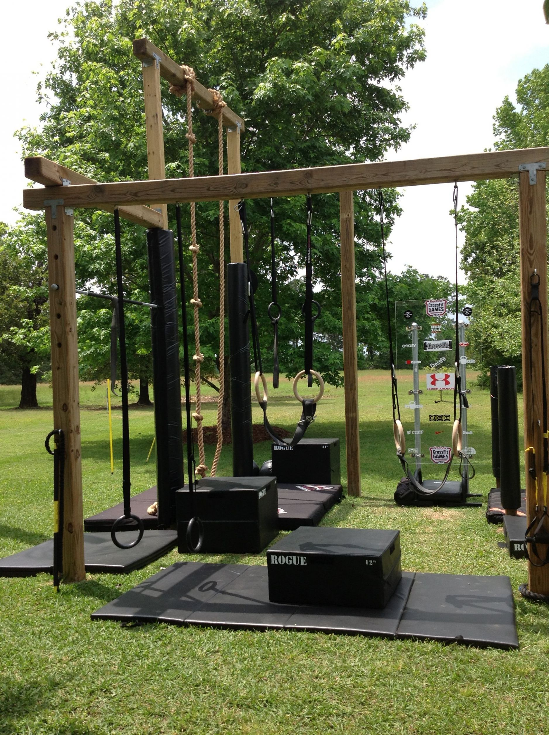L shape U shape different view | Backyard gym, Home gym design