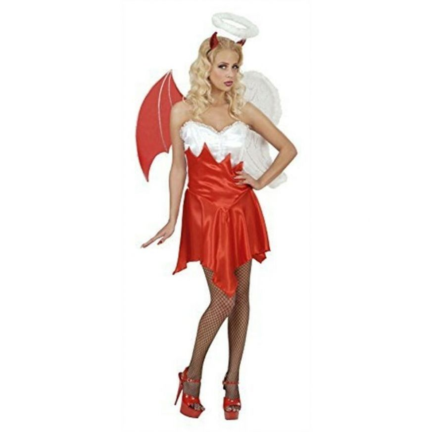 Ladies Heaven & Hell Costume Medium Uk 8-8 For Halloween Fancy ..