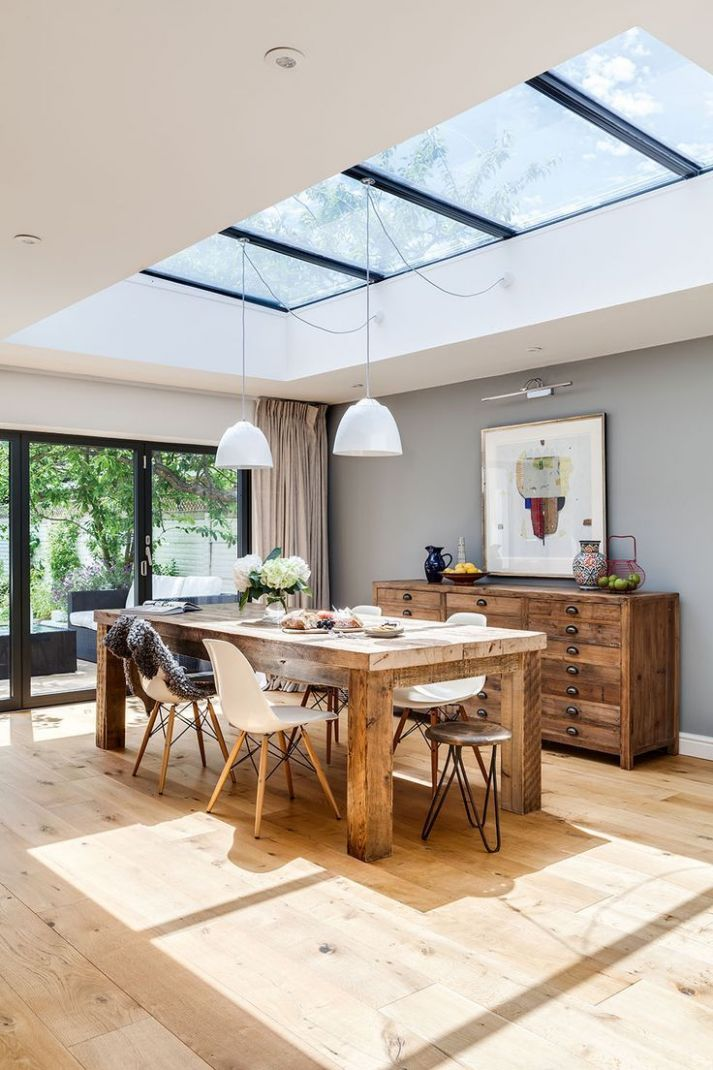 Lamps For Living Room | House styles, House design - dining room extension ideas