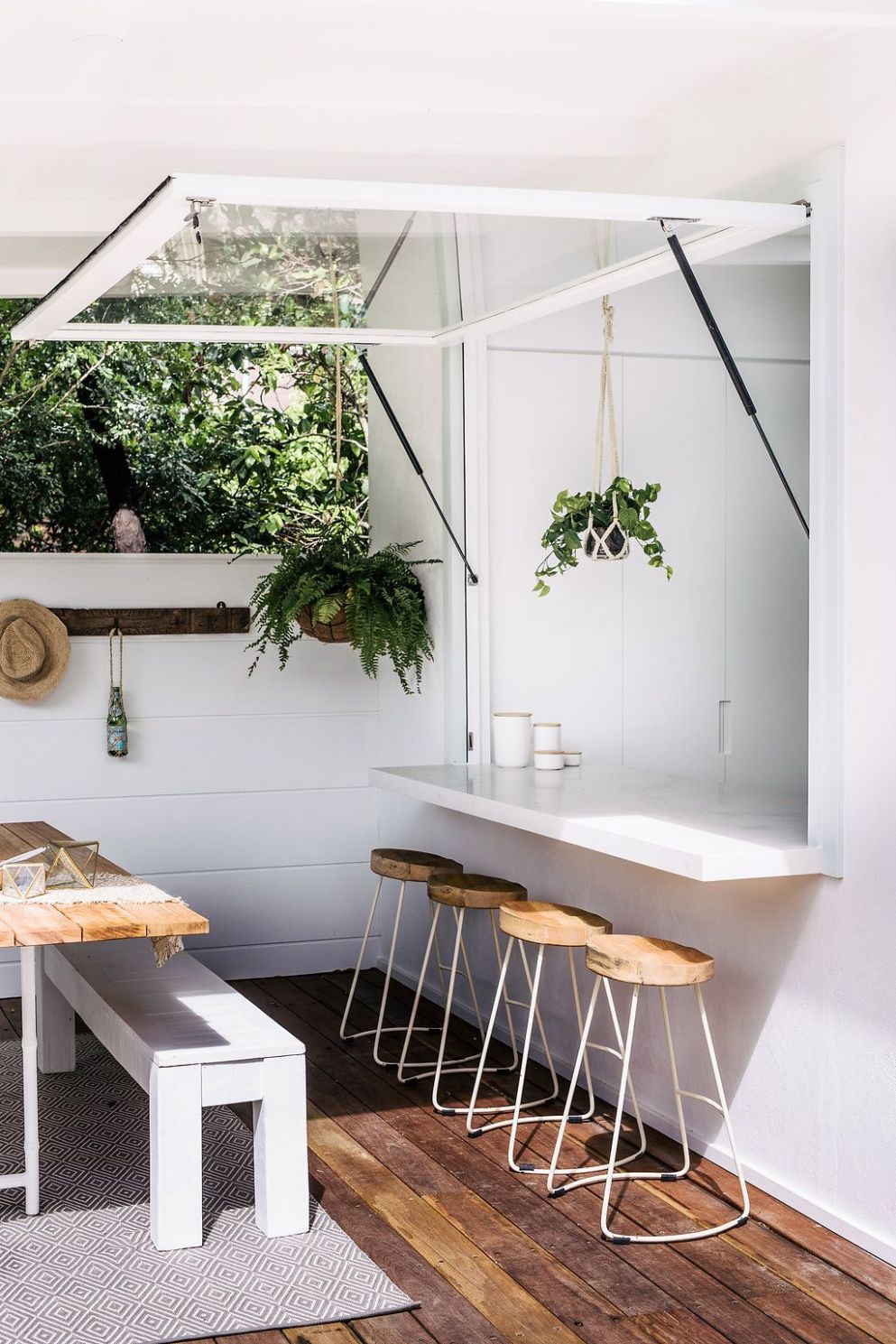 Lana's Forever Home - House Six | Indoor outdoor kitchen, Outdoor ...