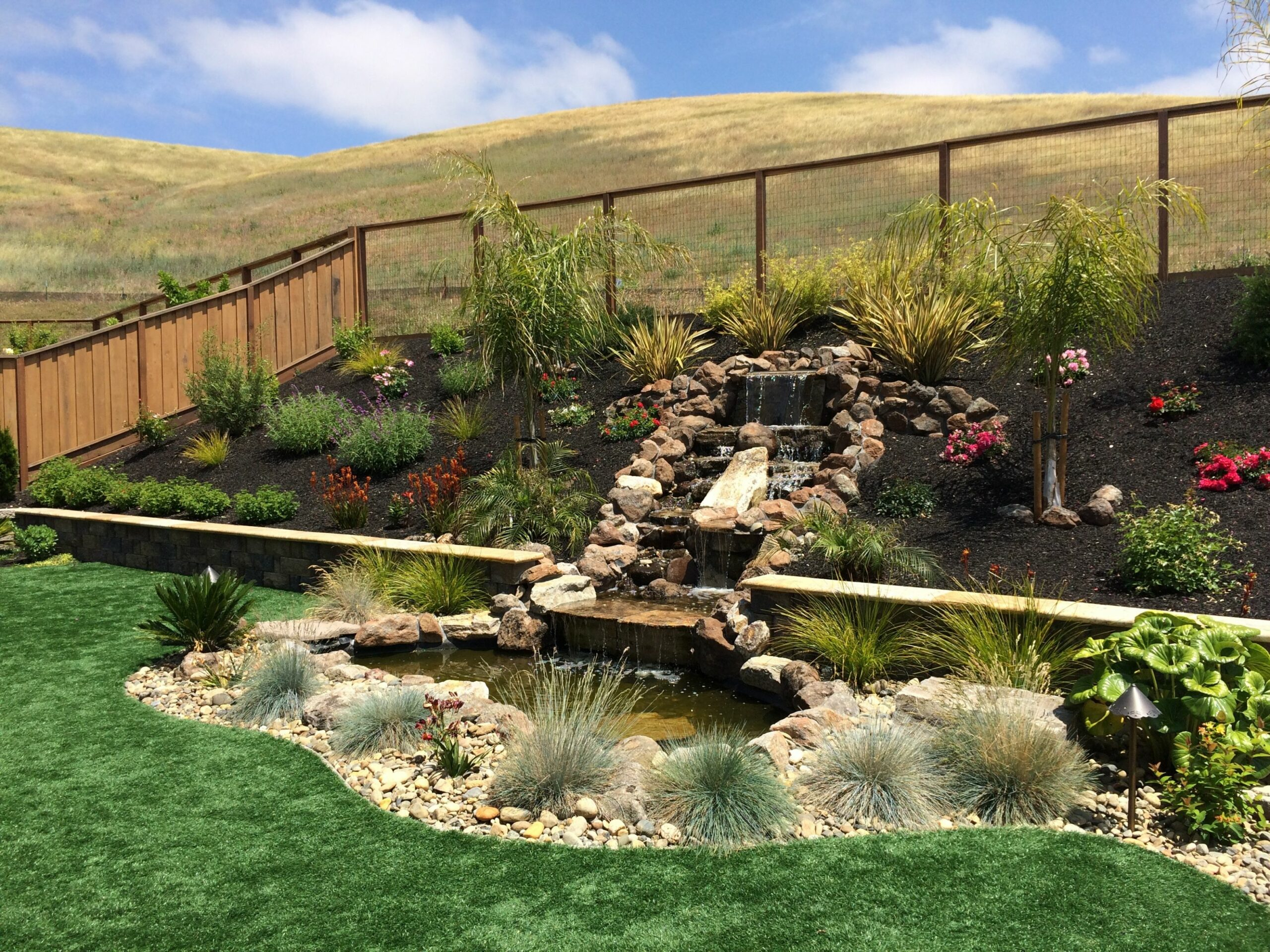 Landscape Design Ideas for Slopes | DPG Design