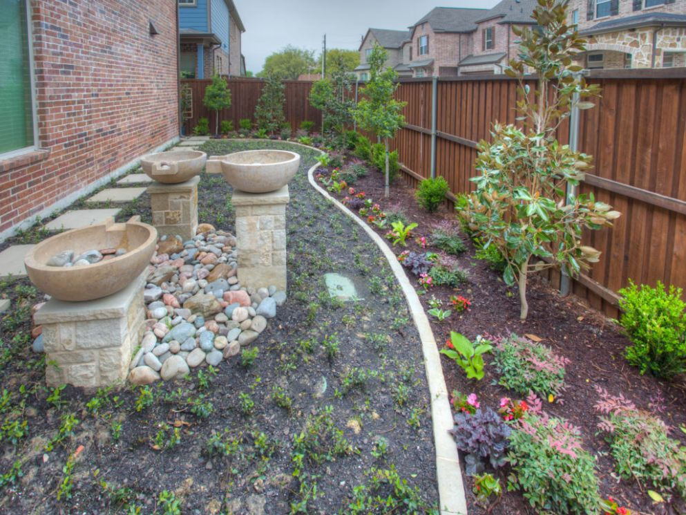 Landscaping & Landscape Design in Plano, TX | CF Landscapes - pool landscaping ideas north texas