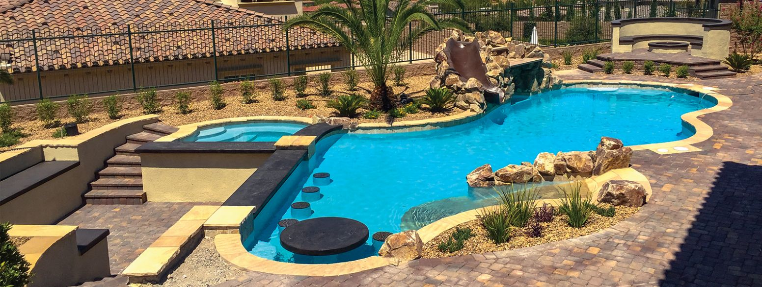Las Vegas Custom Swimming Pool Builders│Blue Haven Pools