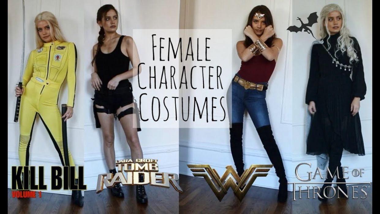 LAST MINUTE FEMALE CHARACTER COSTUMES - halloween ideas movie character