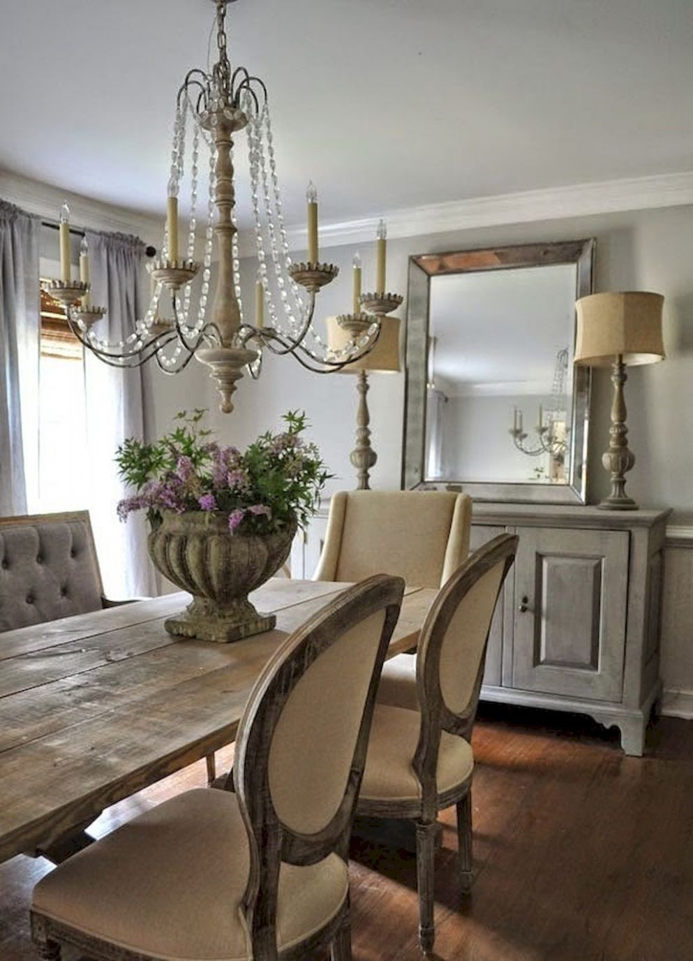 Lasting french country dining room furniture & decor ideas (9 ..