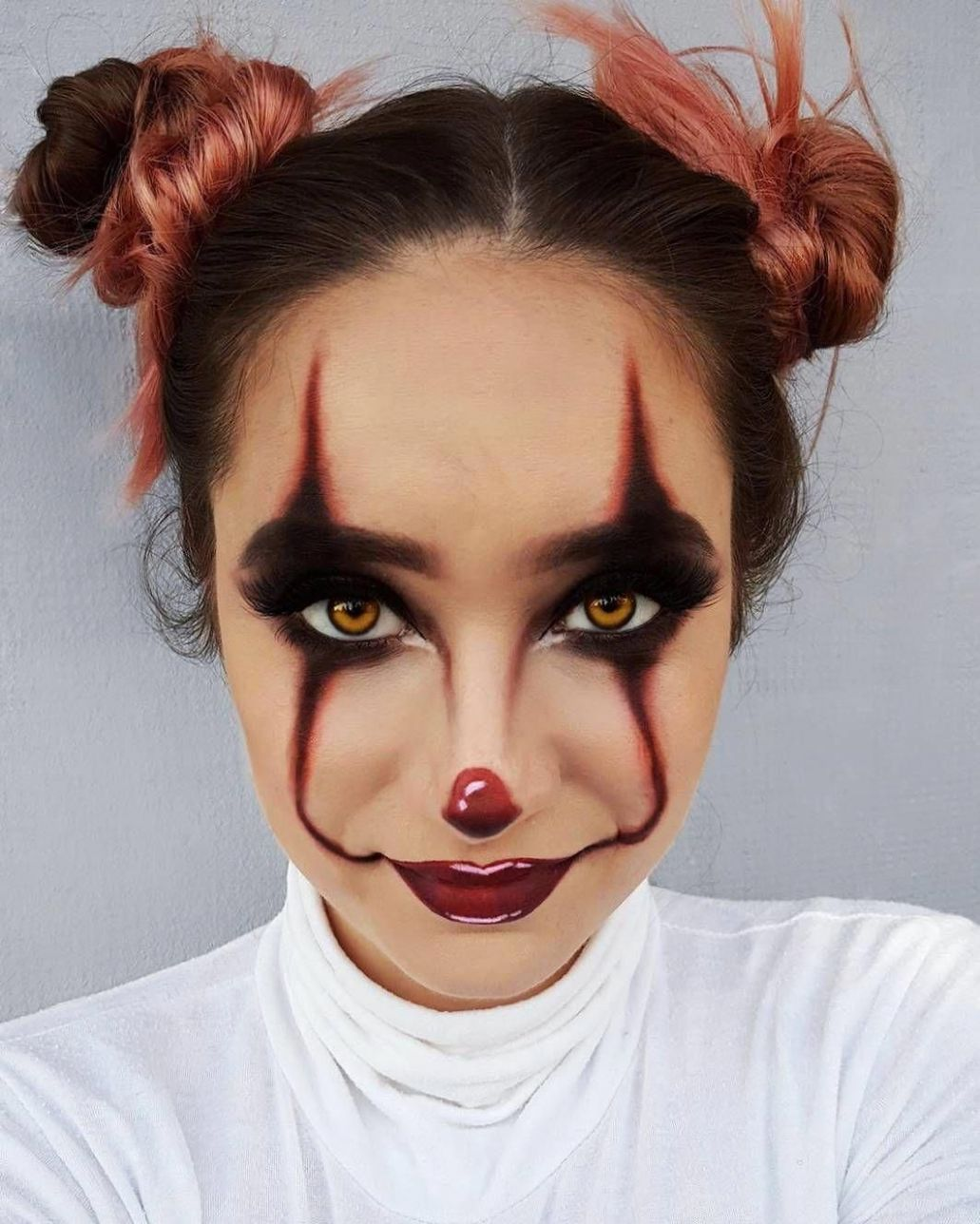 Latest easy makeup ideas #easymakeupideas | Halloween makeup clown ..