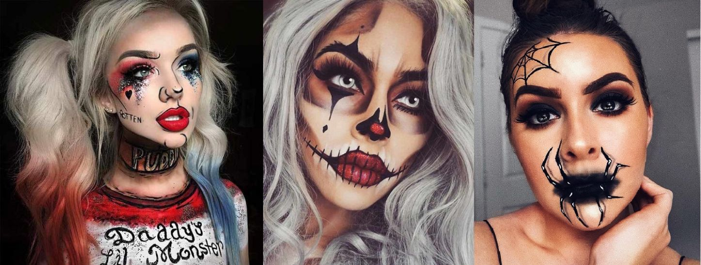 Latest Simple Easy Halloween Makeup Ideas & Looks 12-12 to Follow - halloween ideas for 2020