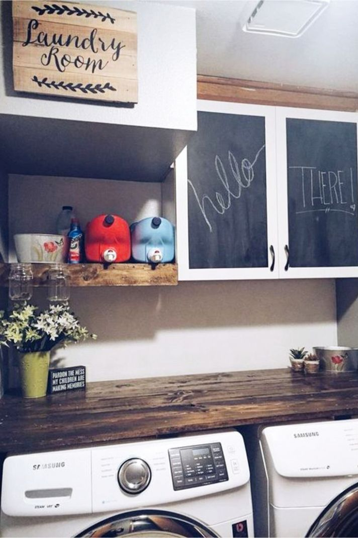 Laundry Nook Ideas We LOVE - Clever DIY Ideas - laundry room nook ideas