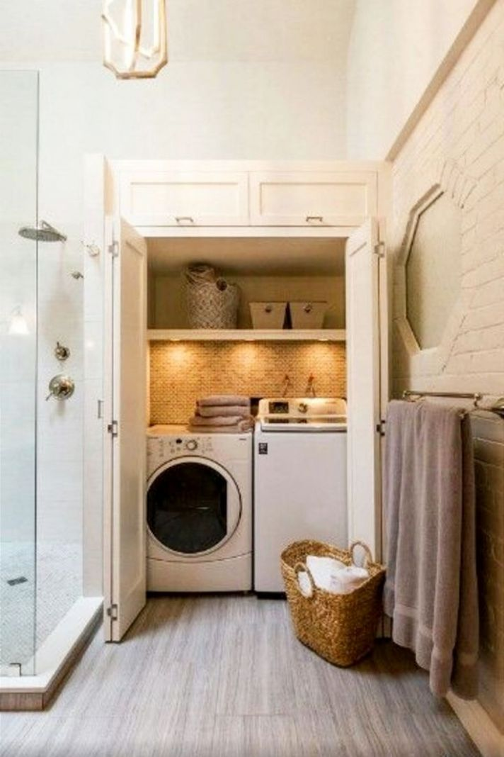 Laundry Nook Ideas We LOVE | Laundry room layouts, Laundry ..