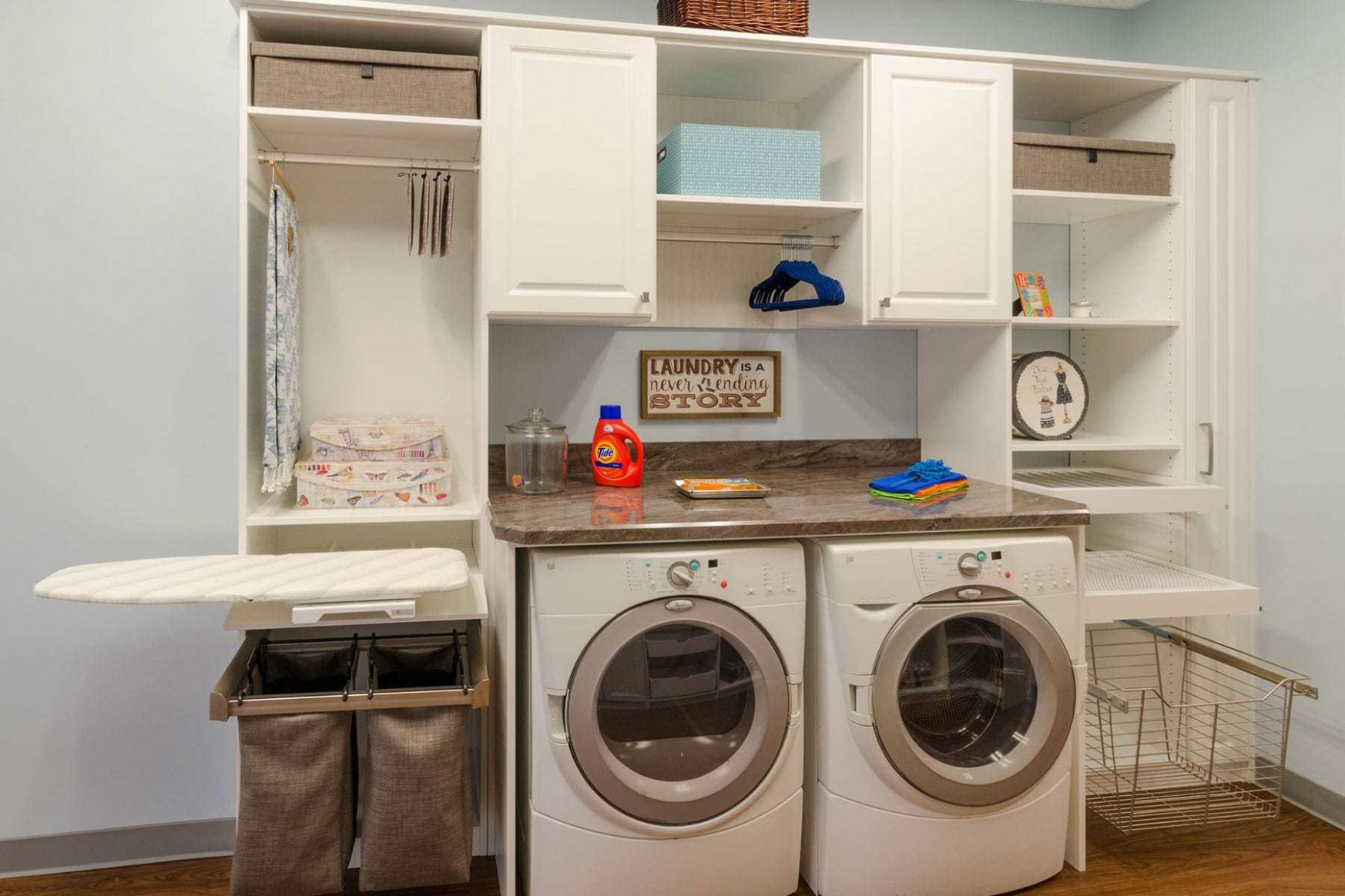 Laundry Room Cabinets Makeover Design Ideas Closet Factory, Built ..