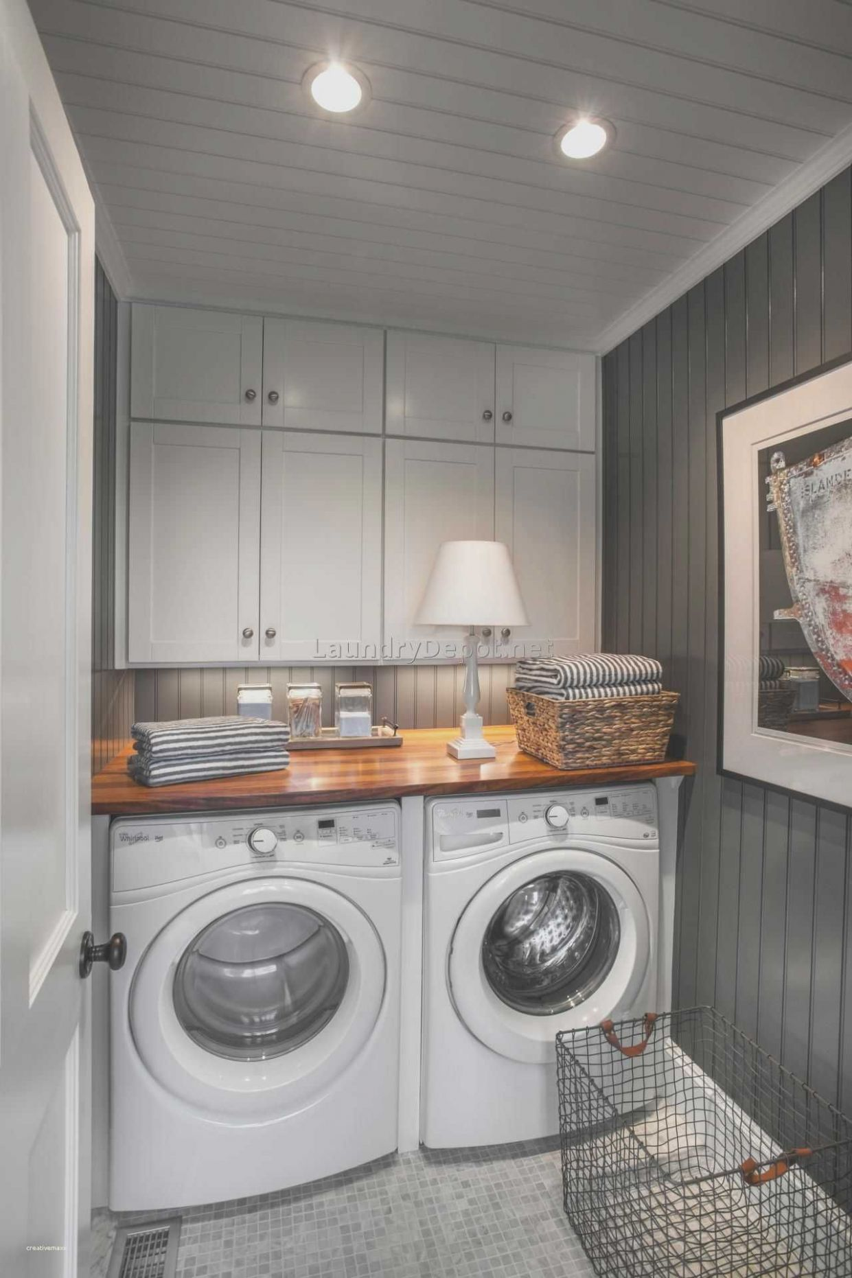 Laundry Room Ideas Small Stackable Closet - Luxury Laundry Room ..