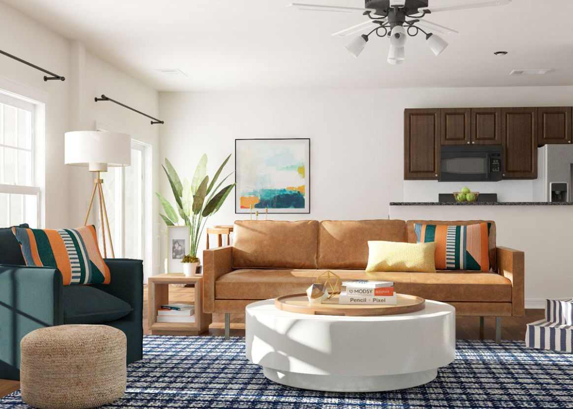 Layout Guide: Open Living Space Layout Ideas | Modsy Blog - living room layout ideas