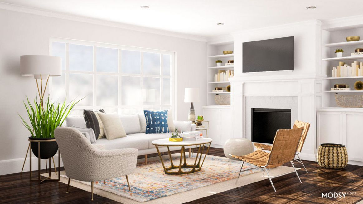 Layout Ideas: Deciding On a Sofa or Sectional For an Open Living Space - living room layout ideas