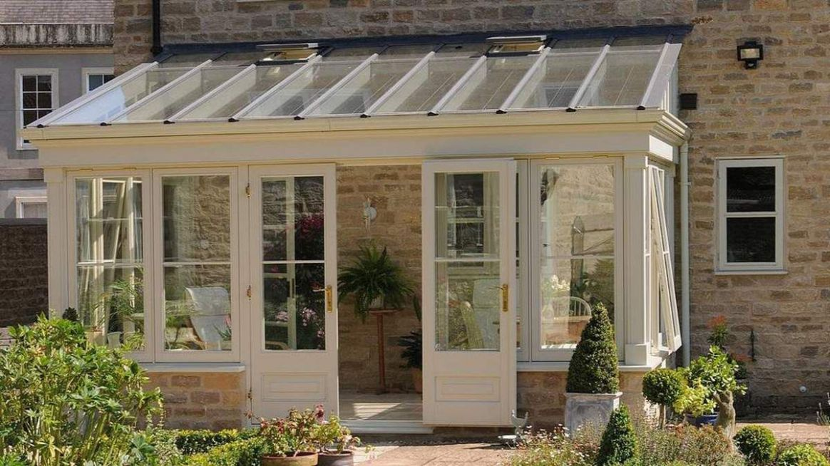 Lean to Sunroom Porch with Metal Roof (With images) | Conservatory ...