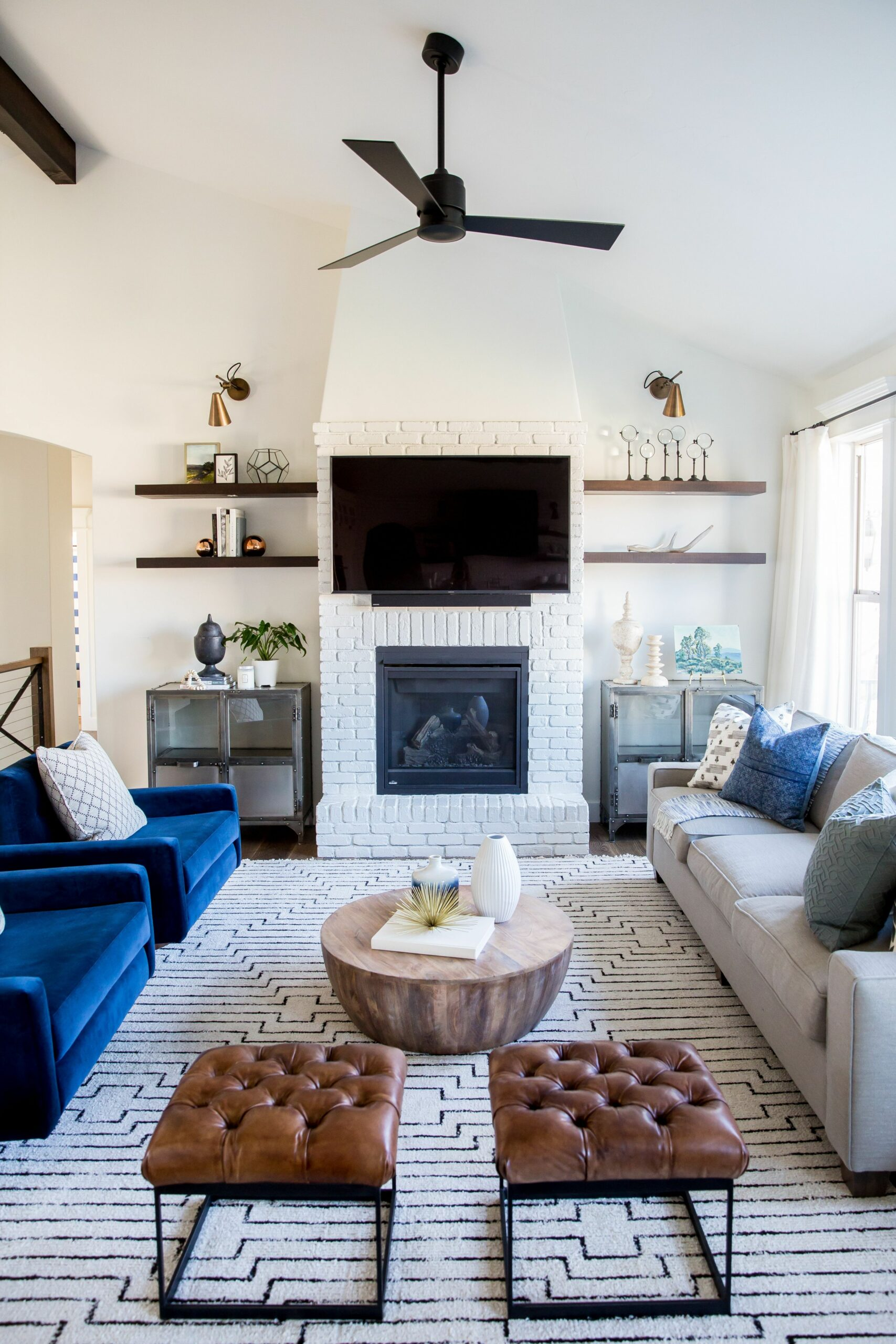 Lehi Remodel Reveal (With images) | Rectangular living rooms ...