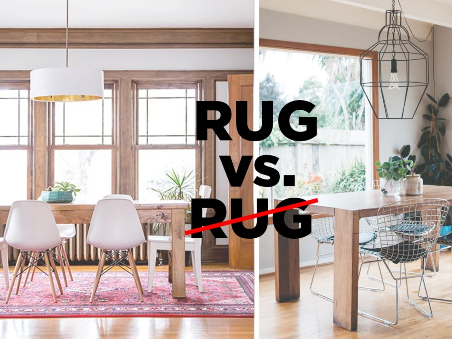 Let's Settle This: Do Rugs Belong in The Dining Room? | Apartment ...