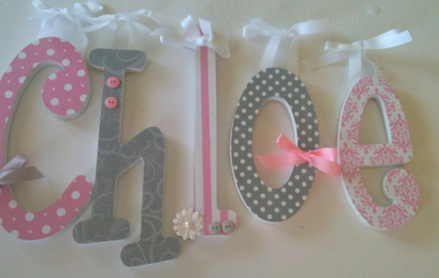 Letters For Baby - Lovely Home Interior Design Idea