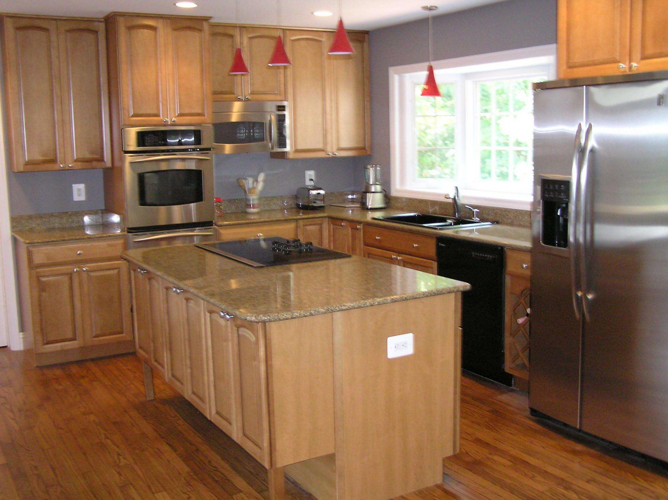 Light Grey Kitchen Walls With Dark Brown Cabis Kitchen Ideas ..
