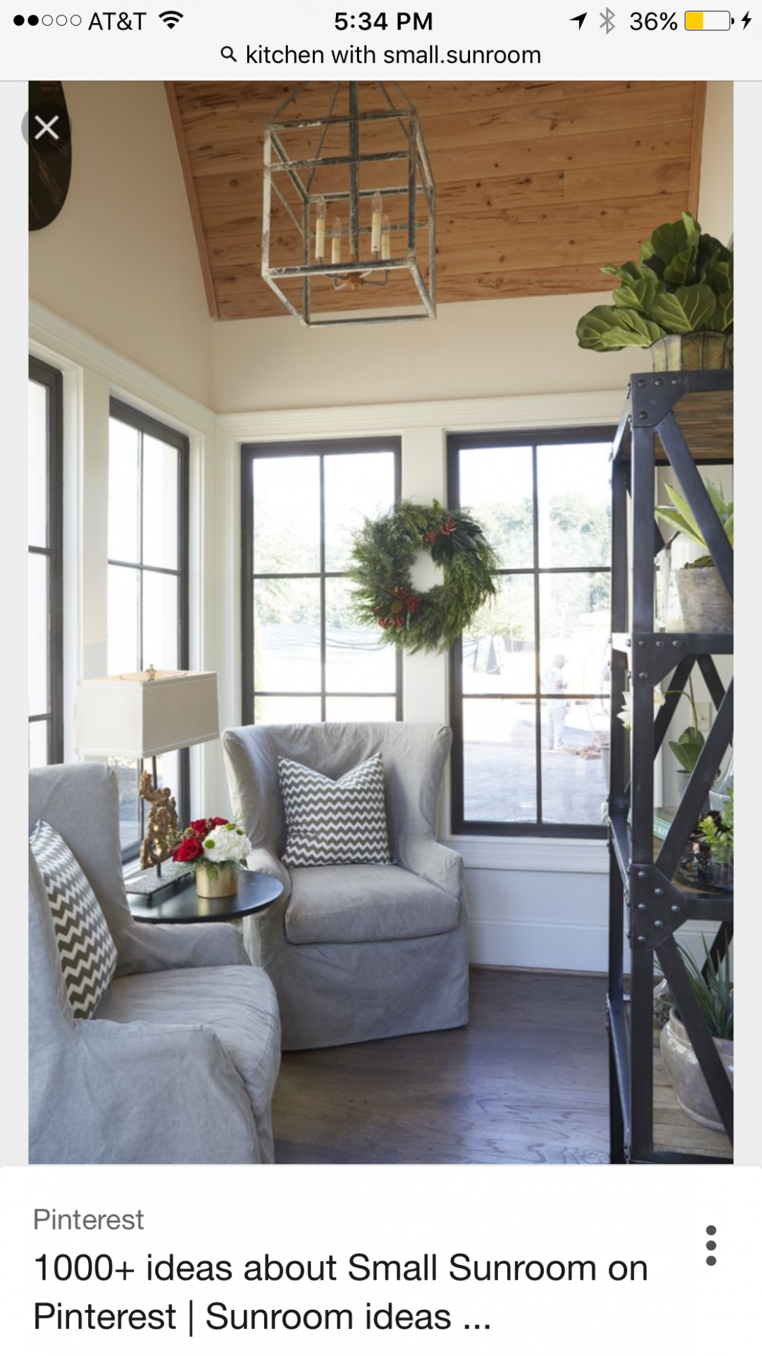 Like black windows | Small sunroom, Sunroom decorating, Sunroom ..