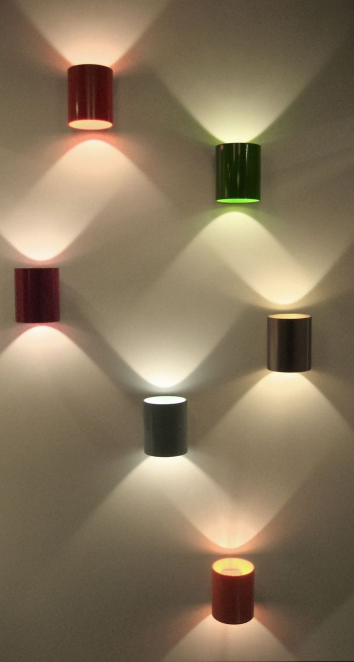 Liking the patterns these lights makes on the wall...... - Home ..