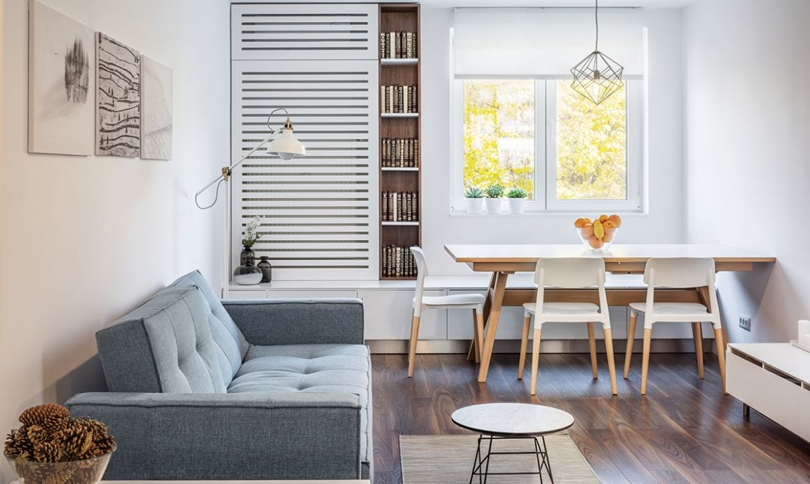 Living & Dining Room Combo: 9 Images & Tips To Get It Right - dining room ideas for apartments