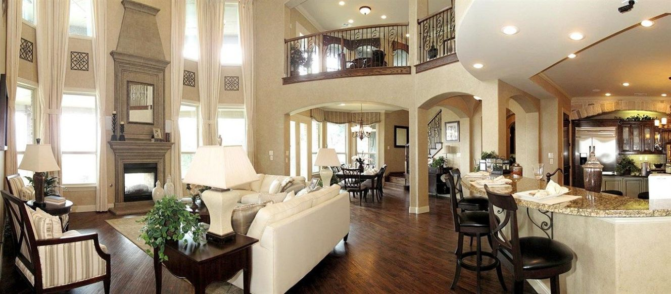 Living Room And Family Room Next To Each Other - living room and ..