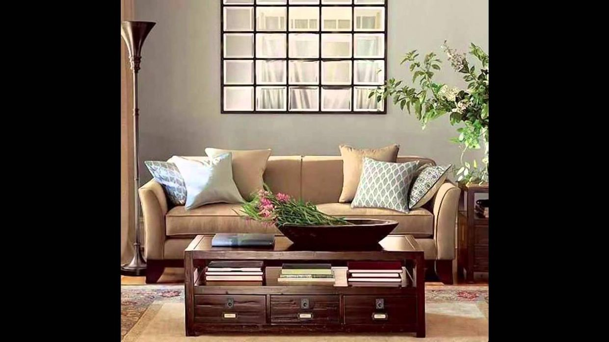 Living room mirror decorations ideas - YouTube