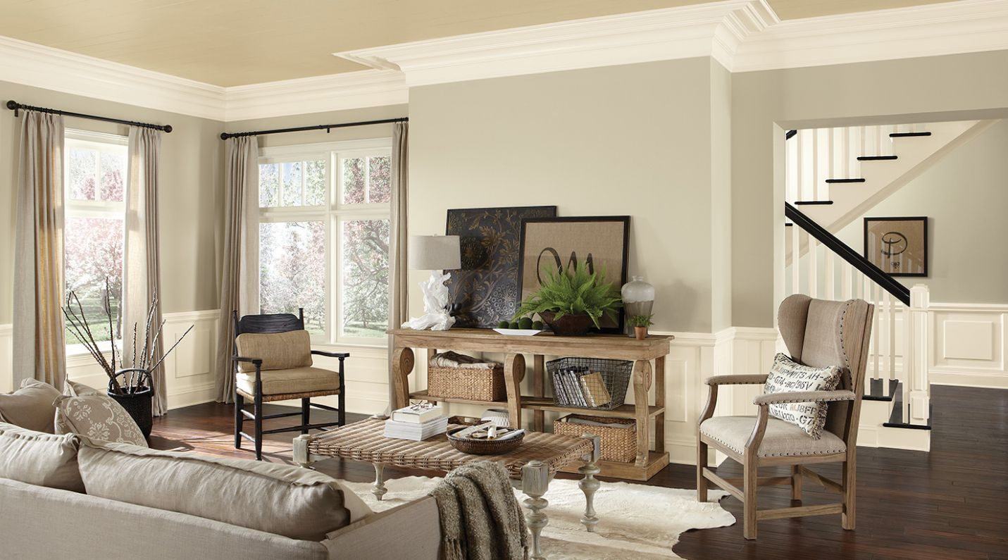 Living Room Paint Color Ideas | Inspiration Gallery | Sherwin-Williams - dining room ideas paint