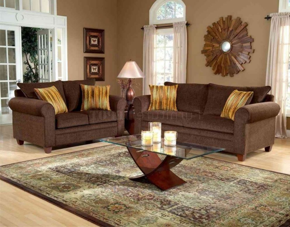Livingroom Outstanding Dark Chocolate Brown Sofa Decorating Ideas ..