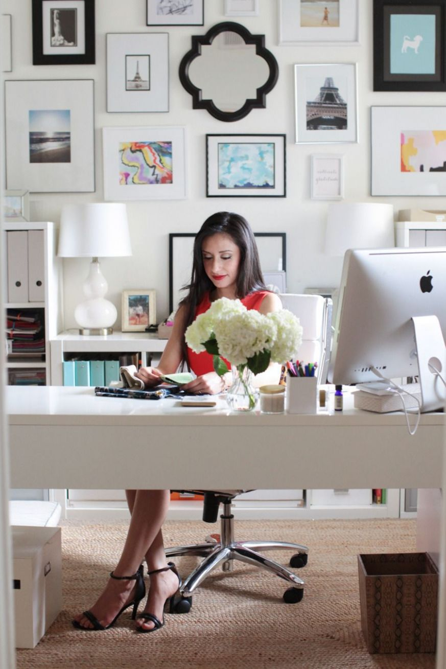 love the desk | Home office decor, Office inspiration, Beautiful ...