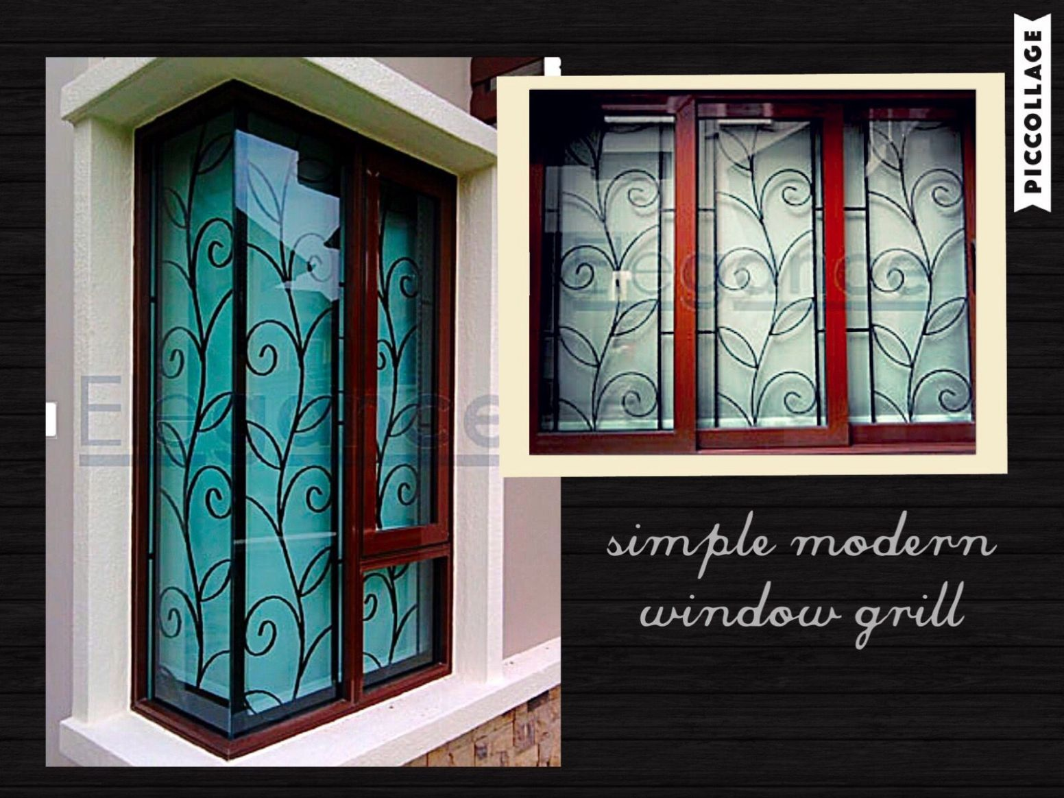 love the simple n modern design of this window grill. | Window ..