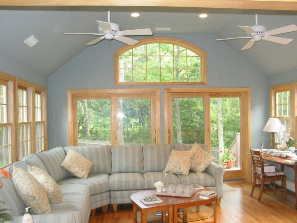 Love the wall color and treatments | Big windows, Wall color, Home
