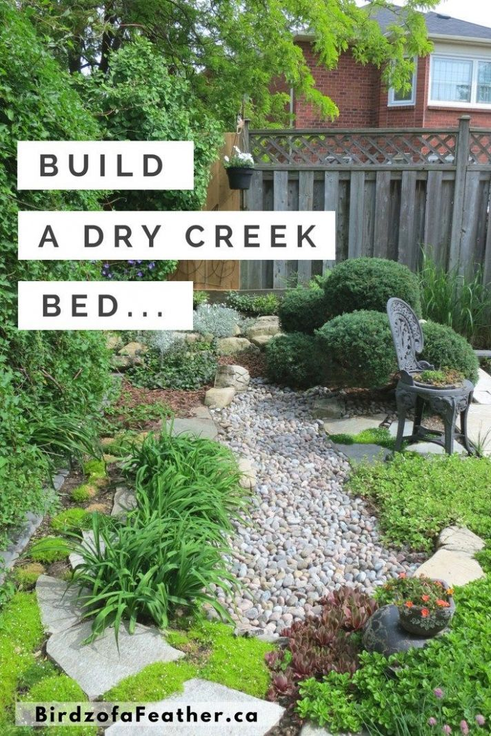 Low Maintenance Gardening (Part 8): Dry Creek Bed | Dry creek bed ..