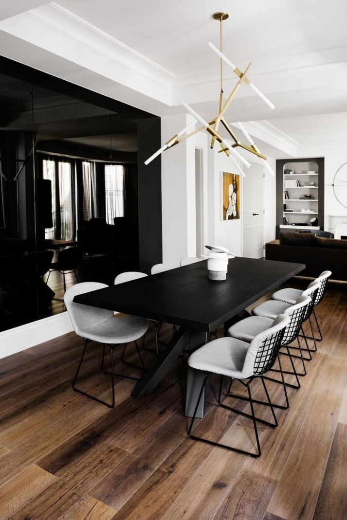 Luxe Apartment Tour: A Refined Yet Relaxed Home | Dining room ..