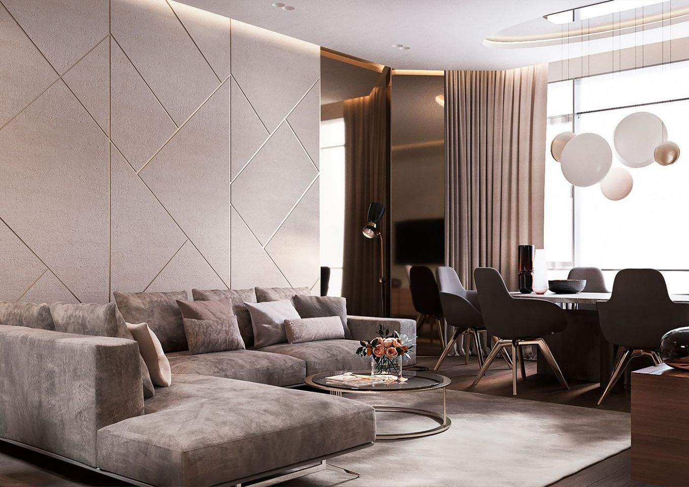 Luxury Apartment Interior Design Ideas with the Right Concept ..