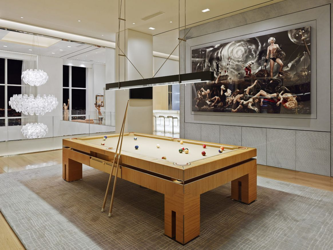luxury pool room design | Interior Design Ideas.