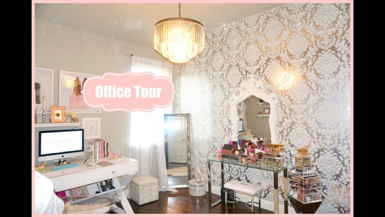 Makeup Room Office Tour - My Filming Room Tour 9 - MissLizHeart - makeup room office