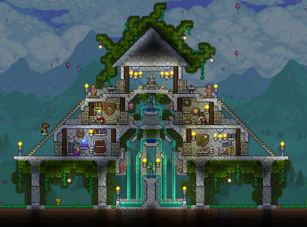 Marble Temple - Drew inspiration from Ymir's design from the 12.12 ...