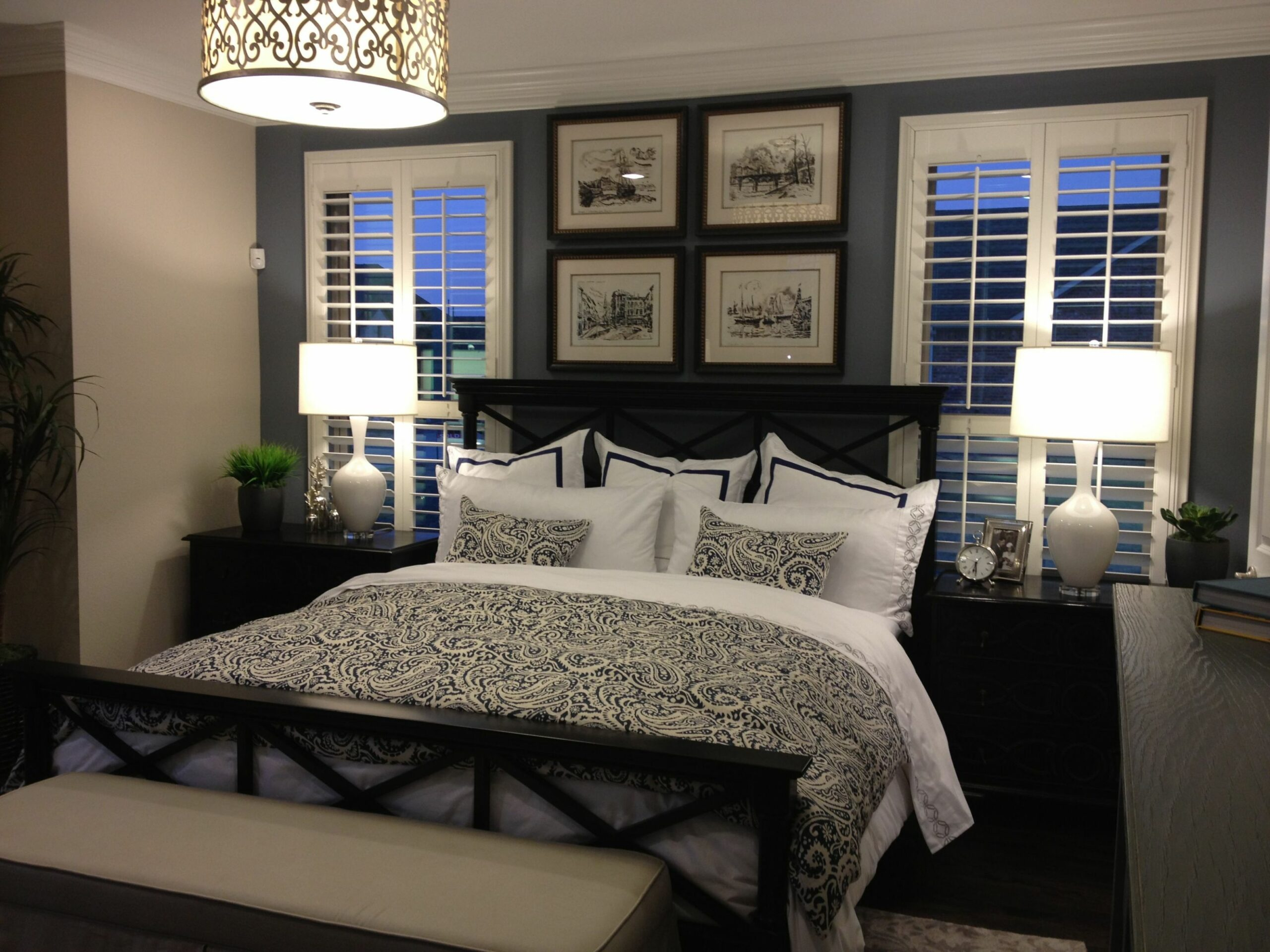 Master Bedroom Idea's | Small master bedroom, Black master bedroom ...