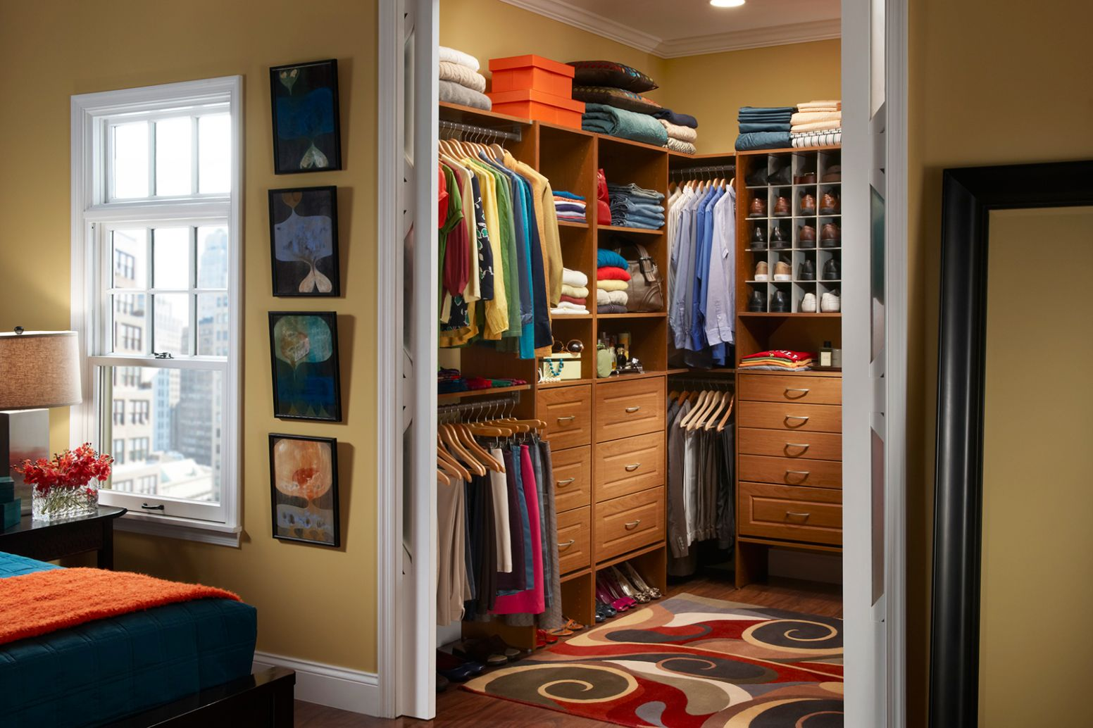 Master Closet Layout | Organizing Your Master Closet - closet arrangement ideas