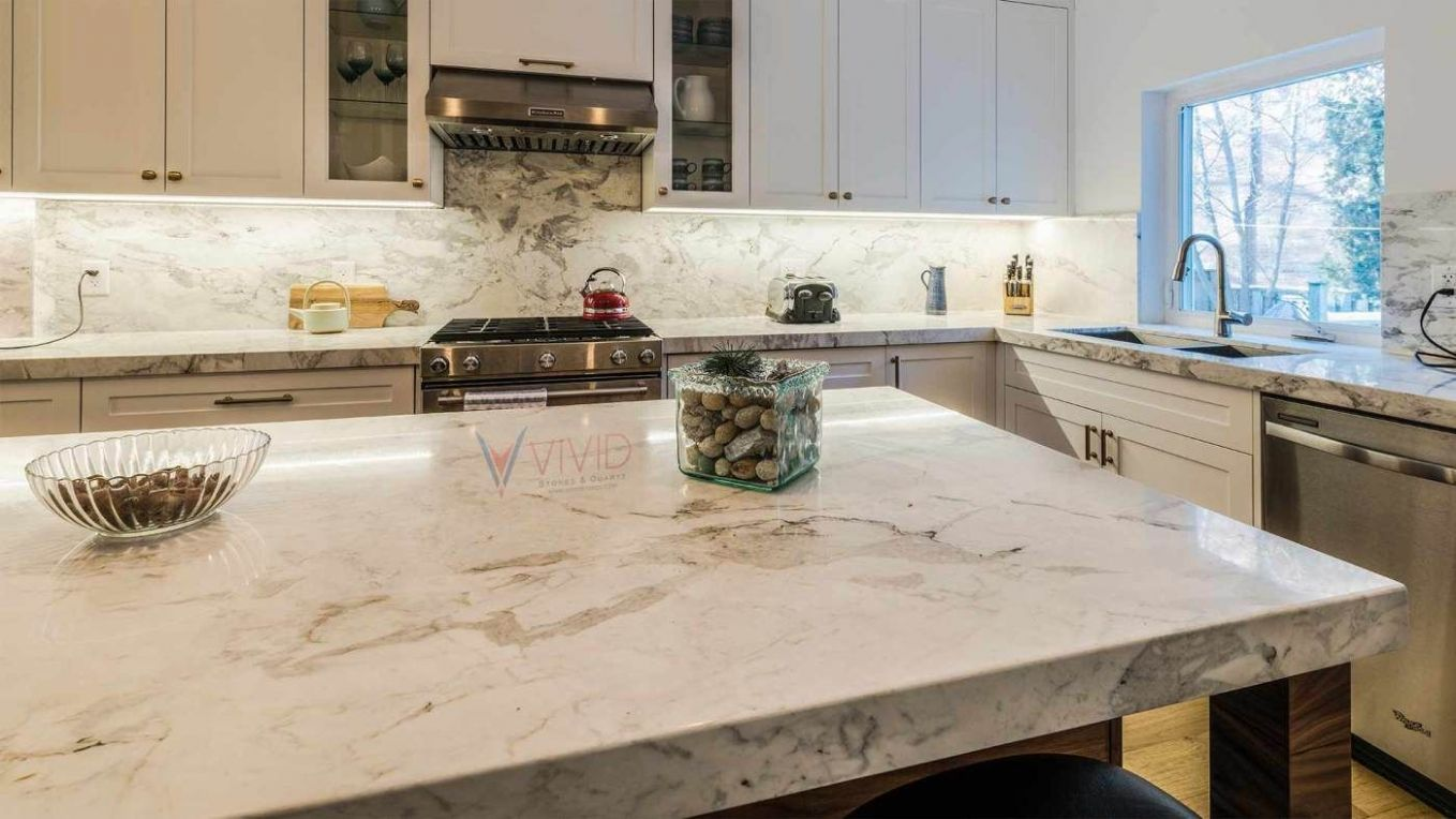 Matarazzo Quartzite Kitchen Island | Kitchen, Quartzite ..