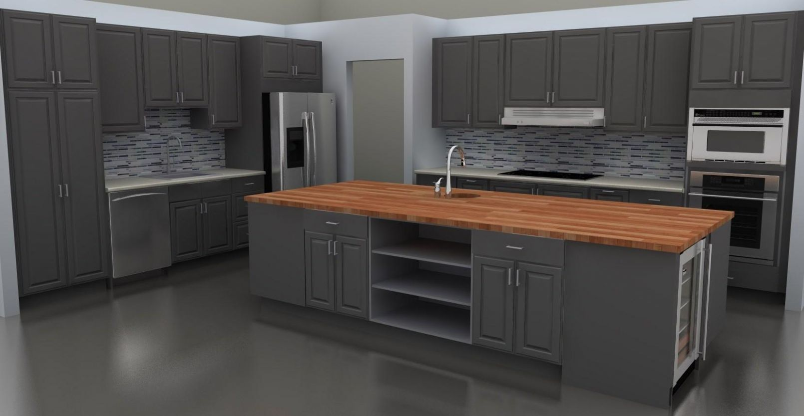 Mesmerizing Gray Kitchens Ideas That You Can Do For Less Than Hour ...