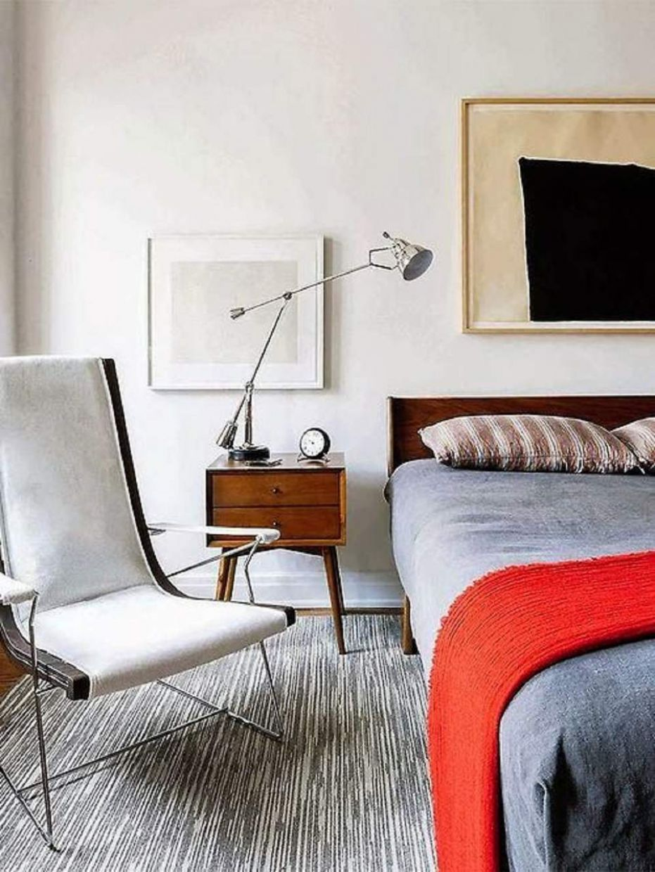 Mid-Century Modern Bedroom Decorating Ideas - bedroom ideas vintage modern