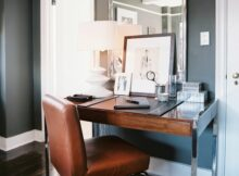 Midcentury-Modern Work Space - Home Office Design Ideas - Lonny