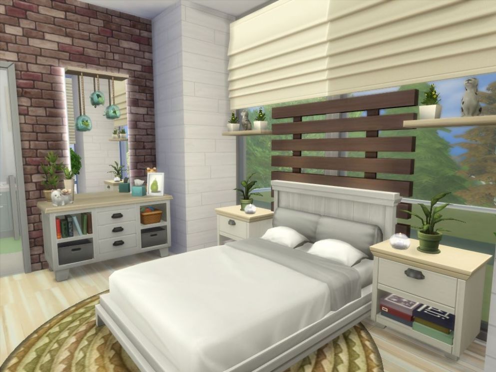 Mod The Sims - Sims Tranquil No CC | Sims house, Sims 11 bedroom ...