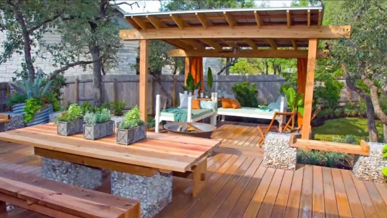 [Modern Backyard] Patio And Deck Ideas For Backyard [Small Backyard Ideas] - backyard ideas deck