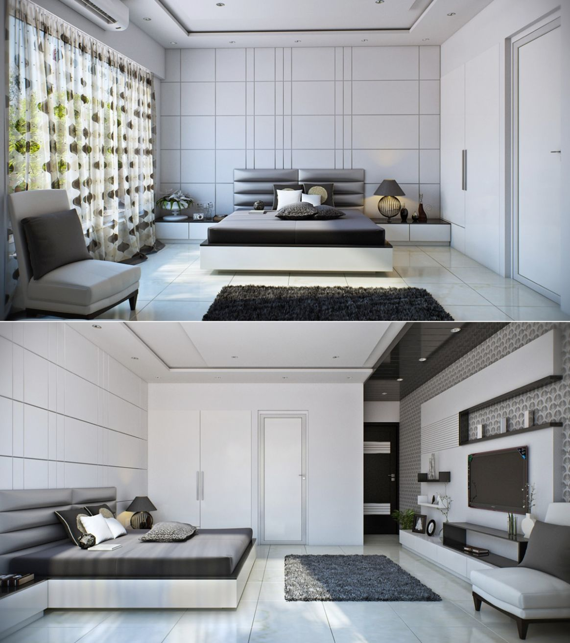 Modern Bedroom Design Ideas for Rooms of Any Size - living room ideas 10 x 20